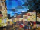 Mosaiktechnik, Malerei
