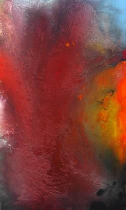 Moderne kunst, Abstrakt, Acrylmalerei, Malerei, Tango,