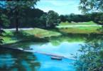 Malerei, Landschaft, Park
