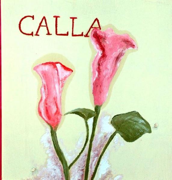 Malerei, Landschaft, Callas