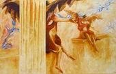 Malerei, Engel, Surreal, Figurativ