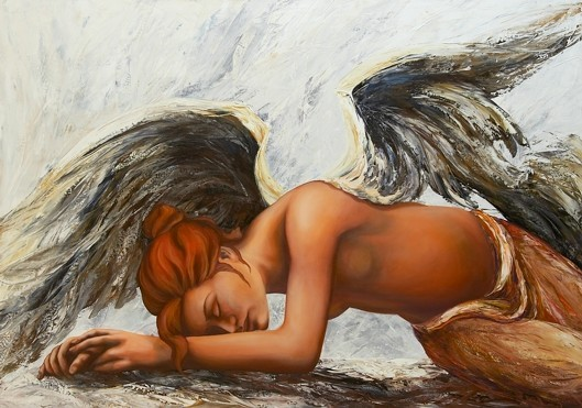 Barock, Engelbilder, Malerei, Tiere, Engel