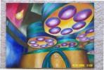 Chipfabrikation, Abstrakt, Laborleuchten, Malerei