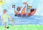 Kinder, Zeichnungen,