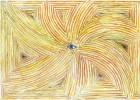 Spirale, Augen, Zeichnung, Surreal
