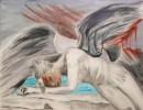 Engel, Schmerz, Malerei, Leid