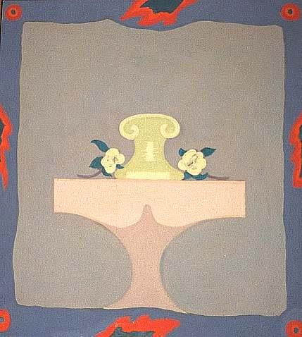 Stillleben, Gemälde, Impressionismus, 1969, Düsseldorf, Holocaust