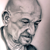 Zeichnung, Portrait, Benkingsley, Zeichnungen