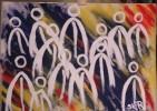 Drauflosgepinselt, Malerei