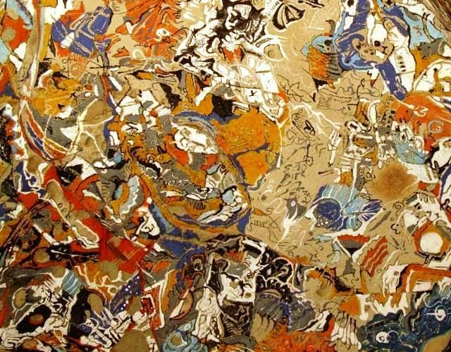 Malerei, Stein, Acrylmalerei, Malerei ii, King