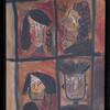 Oberirsen, Malerei, Figural, Glas