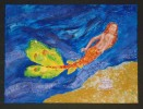 Nixe, Malerei, Meerjungfrau, Figural