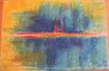 Malerei, Landschaft, Pastellmalerei, Surreal
