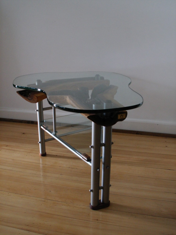 Bild design m bel tisch edelstahl von w leukam bei for Tisch bild von ivy design