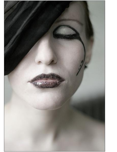 Fotografie, Make up, Portrait, Speziell, Menschen, Hut