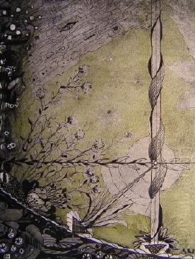 Kunsthandwerk, Metall, Landschaft