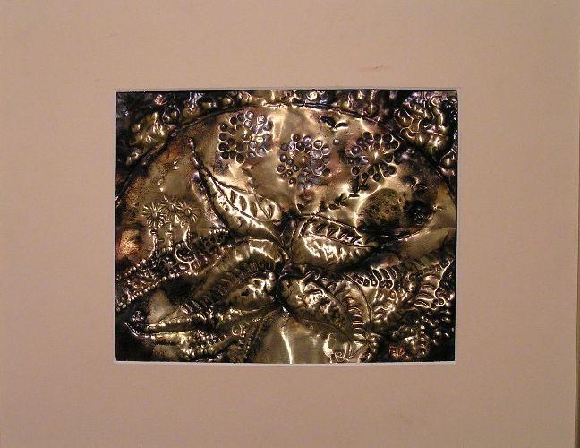 Metall, Kunsthandwerk, Messingtreibarbeit