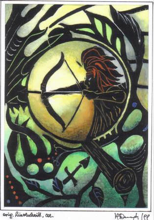 Kunsthandwerk, Metall, Sternzeichen