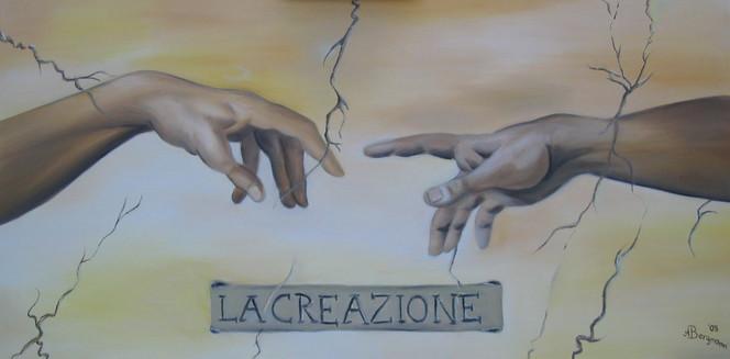 Malerei, Michelangelo, Creazione, Schöpfung