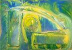 Kraft, Fantasie, Gelb, Lichtkreis