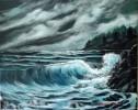 Welle, Strand, Himmel, Landschaft