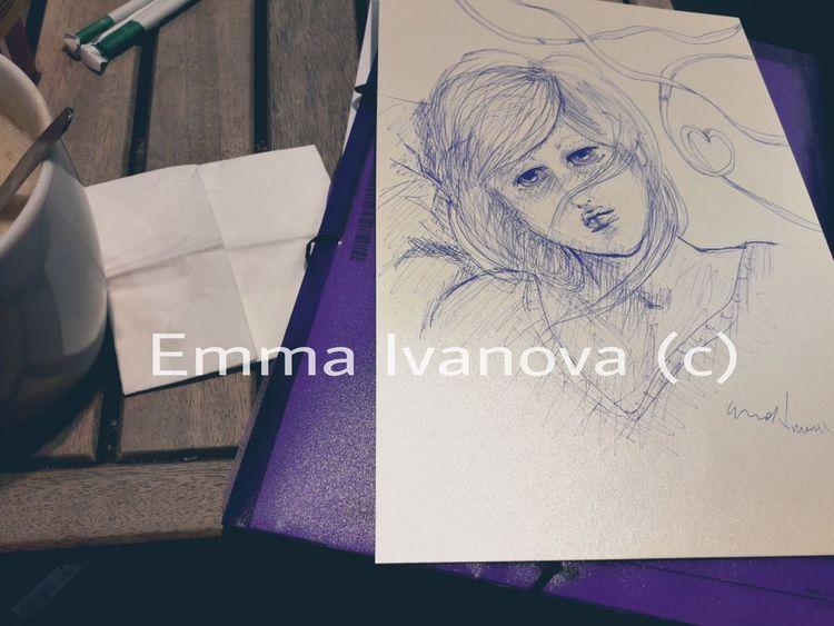 Surreal, Comic, Emmaivanova, Anime, Zeichnung, Zeichnungen