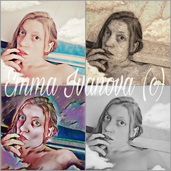 Selfie, Popart, Fotografie, Selbstportrait, Digital art, Digitale kunst