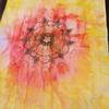 Malerei, Blumen, Waschtag, Rot