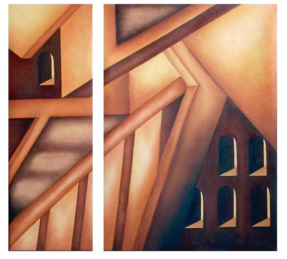 Ölmalerei, Malerei, Kubismus, Zeit, Raum,