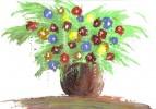 Blumen, Stillleben, Malerei