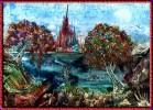 Landschaft, Fantasie, Malerei, Farben