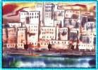 Stadt, Augen, Landschaft, Malerei