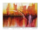 Malerei, Herbst, Abstrakt