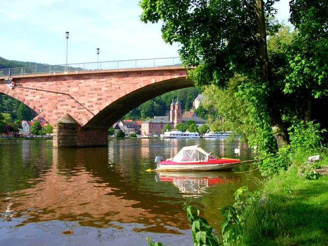 Miltenberg, Reiseimpressionen, Mainufer, Fotografie, Bayer, Main