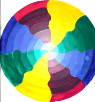 Kreis, Skizze, Malerei, Illusion