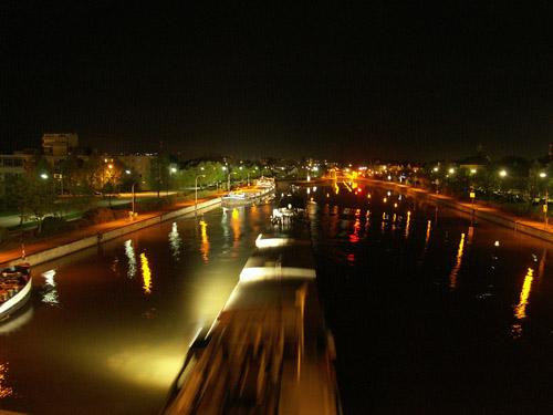 Fotografie, Wasser, Schiff, Donau, Kanal, Boot