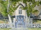Haus, Sylt, Malerei, Bauernhaus