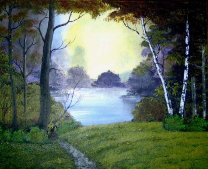 Malerei, Morgen