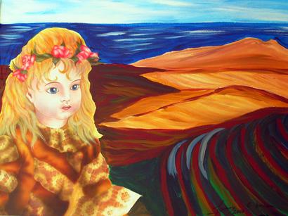 Werkstatt, Gemeinschaftsprojekt, Gemeinschaftsarbeit, Puppe, Airbrush, Malerei