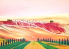 Farben, Lebensfreude, Rosa, Malerei