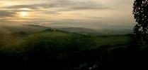Hügel, Landschaft, Fotografie, Herbst