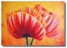 Tulpen, Ölmalerei, Mohn, Landschaft