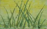 Abstrakt, Malerei, Frosch