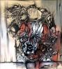 Zeichnung, Einblick, Malerei, Requiem