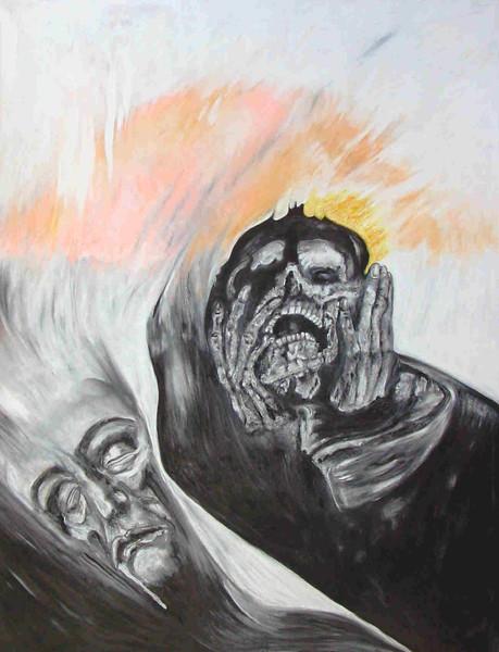 Einblick, Malerei, Tod,