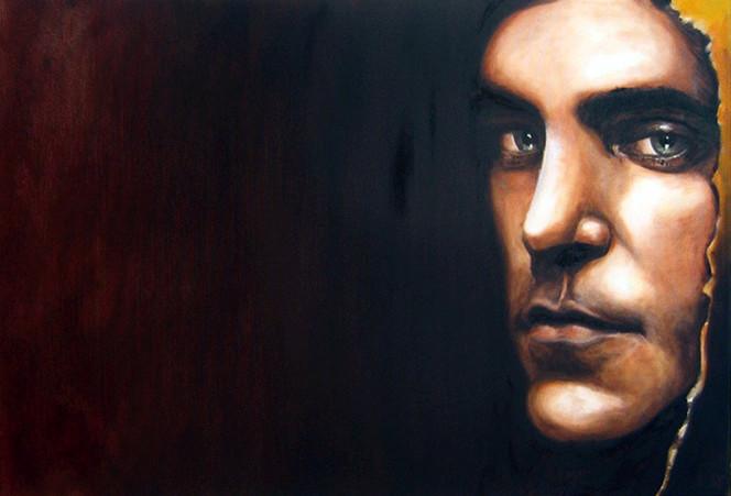 Frau, Menschen, Portrait, Ölmalerei, Figurativ, Malerei
