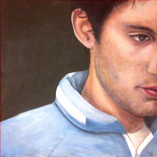 Acrylmalerei, Ölmalerei, Figurativ, Frau, Fotorealismus, Portrait