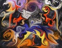 Abstrakt, Digital, Digitale kunst, Tanz