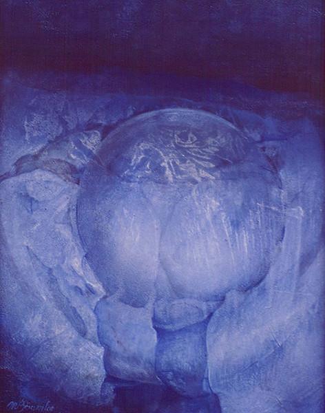 Meditation, Gemälde, Malerei