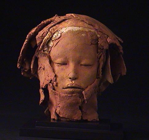 Ton, Figural, Keramik, Skulptur, Plastik